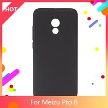Pro 6 Case Matte Soft TPU Silicone Back Cover For Meizu Pro 6 Phone Case Slim shockproof