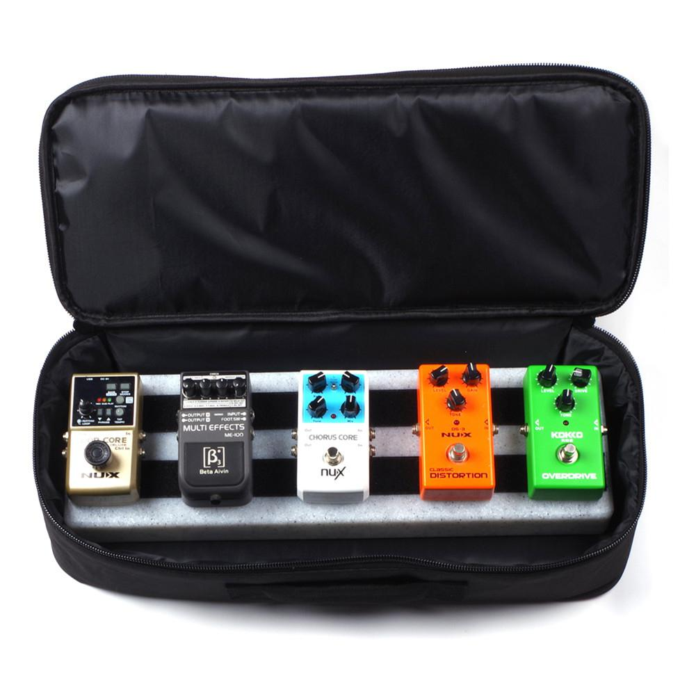 Monoblock Effect Board Package Portable Handheld Oxford Cloth Guitar Effects Pedal Board Pedalboard Rockboard Case enlarge
