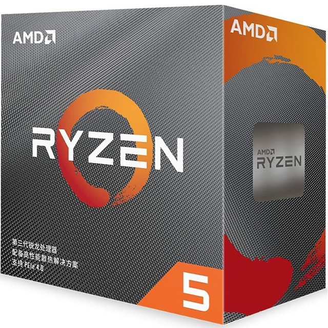 r5 3500X boxed package FOR AMD board B450M CPU main board game