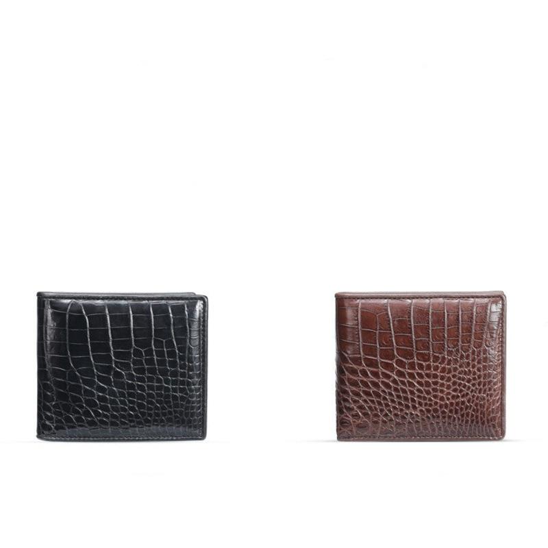 Hot sale Crocodile leather men's wallet Luxury brand short belly horizontal zero purses European style men women free shipping