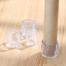 4 teile/satz Stuhl Bein Caps Gummi Füße Protector Pads Möbel Tisch Abdeckungen Socken Stecker Abdeckung Möbel Nivellierung Füße Wohnkultur