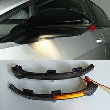 Dynamische Blinker Blinker Für Volkswagen Golf 7 VII MK7 E-Golf Touran Sequentielle Seite Spiegel Anzeige Licht