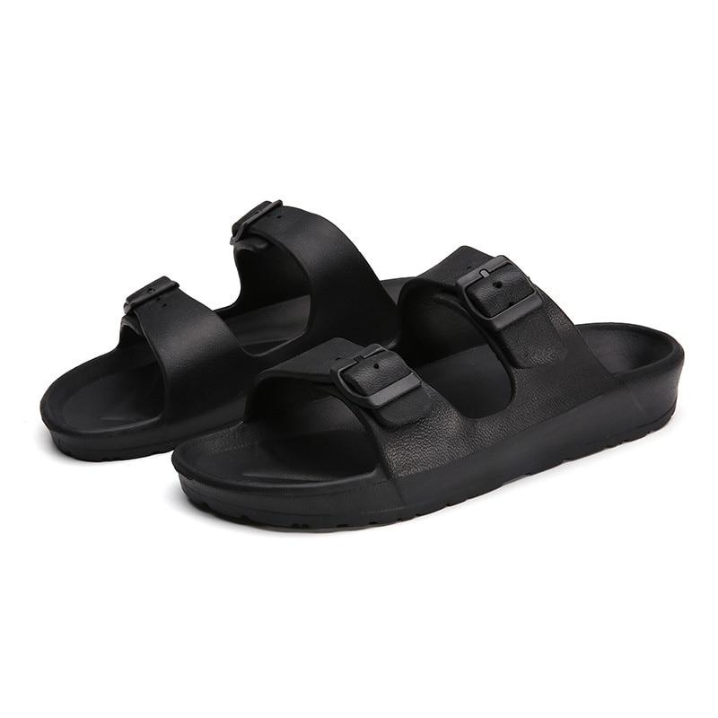 Summer Flip Flops Men Slippers Lovers Brocken EVA Shoes Fashion Beach Casual Non-slip Shoes Slippers