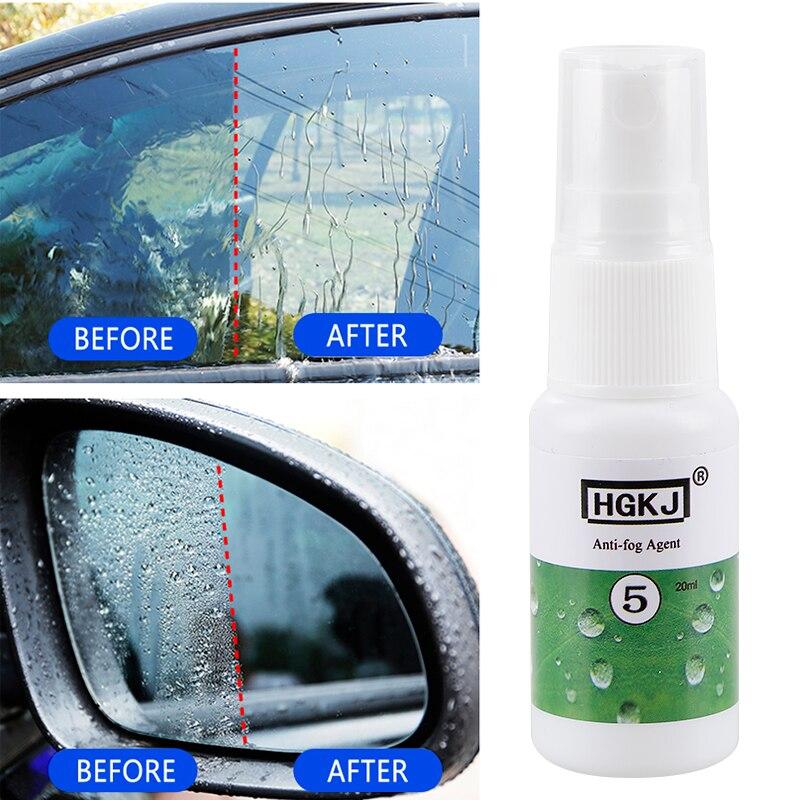 HGKJ-5-20ml Anti-fog Agent Waterproof Rainproof Anit-fog spray Car Window Glass Bathroom Cleaner Car Cleaning Car Accessories