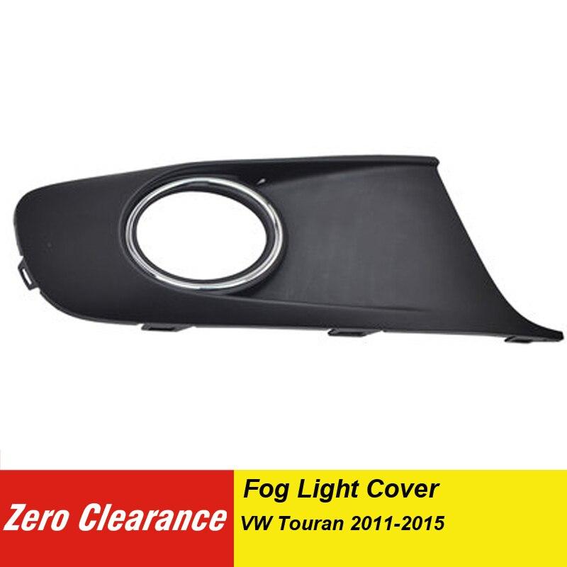 1T0 853 665 1T0 853 666 Front Bumper ABS Fog Lamp Cover For VW Touran 2011 2012 2013 2014 2015 FogLamp Frame 1T0853665 1T0853666