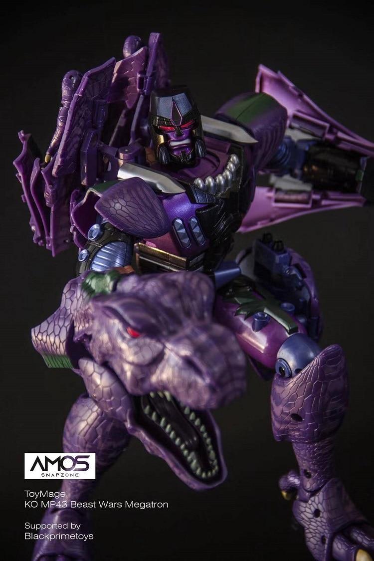 في الأوراق المالية ToysMage التحول MP43 MP-43 تيرانوصور الوحش الحروب ديناصور KO المحارب عمل الشكل ألعاب روبوتية مع صندوق