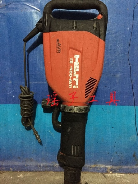 Second-hand Hilti HILTI carbon brush-free heavy duty electric pick TE1500-AVR with shock absorption function 110V 220V enlarge