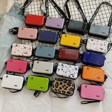 Luxury HandBag For Women New Shoulder Bag Suitcase Shape Totes Fashion Small Luggage Bag Lady Famous