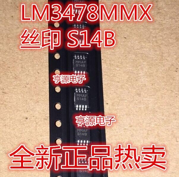 LM3478MM LM3478MMX S14B MSOP8