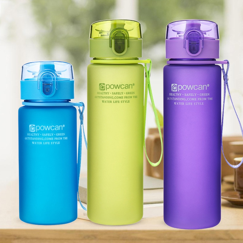 400ml 560ml Portable Leak-proof Water Bottle High Quality Tour Outdoor Bicycle Sports Drinking Plast