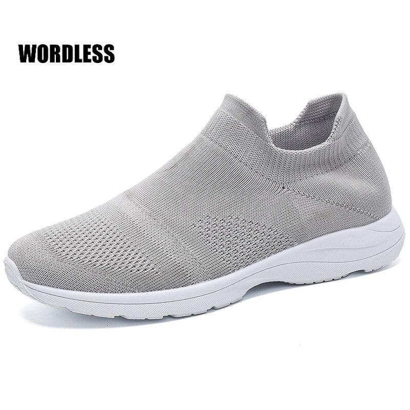 Zapatillas de deporte transpirables para Mujer, Calzado ligero antideslizante, transpirable, para correr,...