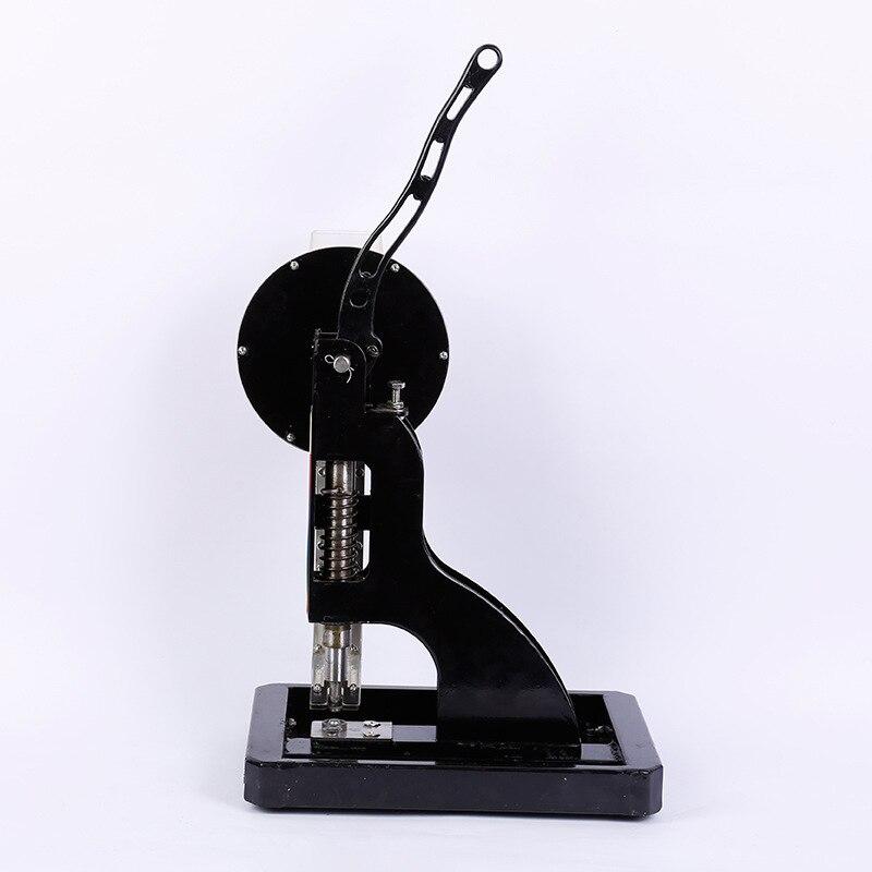 Máquina de abotoamento de pano de impressão semiautomática lona de encerado máquina de perfuração de material de publicidade ferramenta