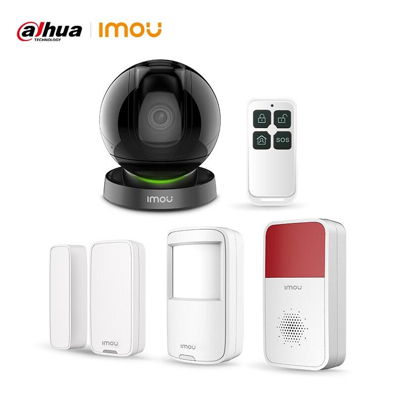 Cámara IP Dahua Imou Ranger IQ, cámara de enlace ia completamente conectada con sistema de alarma, Kit de Starlight, cámara de vigilancia de visión nocturna