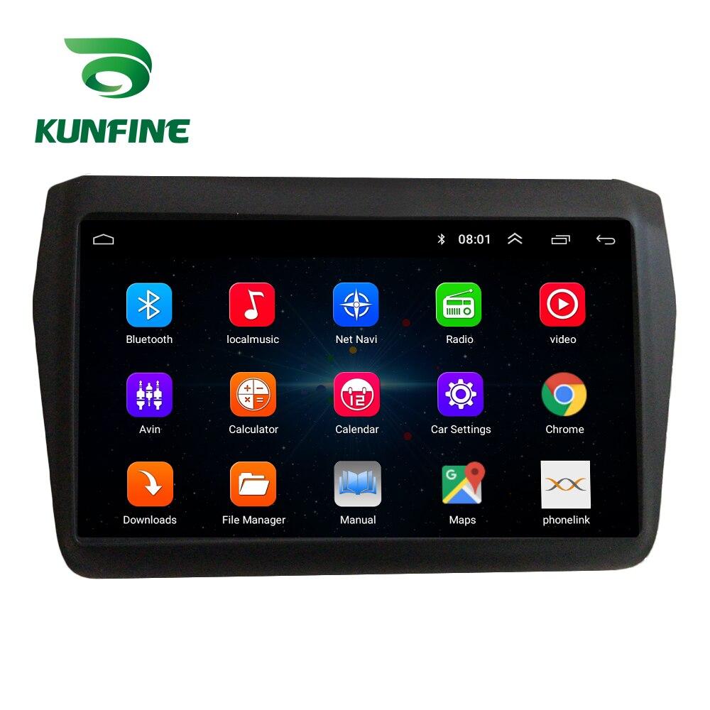 Восьмиядерный автомобильный DVD-плеер с GPS-навигацией, Android 10,0, автомобильная стерео-система без приборов для Suzuki SWIFT 2017-2020, головное устройство, радио