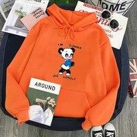 vintage panda animal cartoon sweatshirt men 2021 tops print plus size hoodies letter winter tops vintage styles hoodie