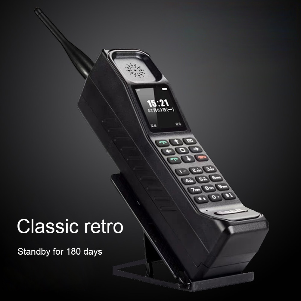 H999 الهاتف الخليوي المصغر المزدوج سيم يده الهاتف الكلاسيكية الهاتف المحمول بصوت عال المتكلم الوسائط المتعددة MP4 لاعب مصباح يدوي منفذ USB