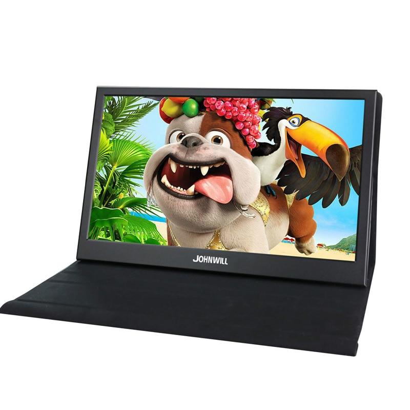 Monitor portátil pc de 13,3 pulgadas, pantalla táctil de 1080P 2K, hdmi ips, pantalla lcd, monitor de ordenador portátil ps3, ps4, Xbox, raspberry pi