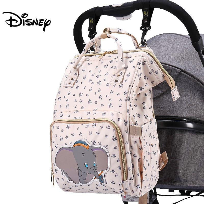 Disney Diaper Bag Backpack Baby Bags for Mom Wet Bag Fashion Mummy Maternity Diaper Organizer Mickey Minnie Mother Pram Bag Good
