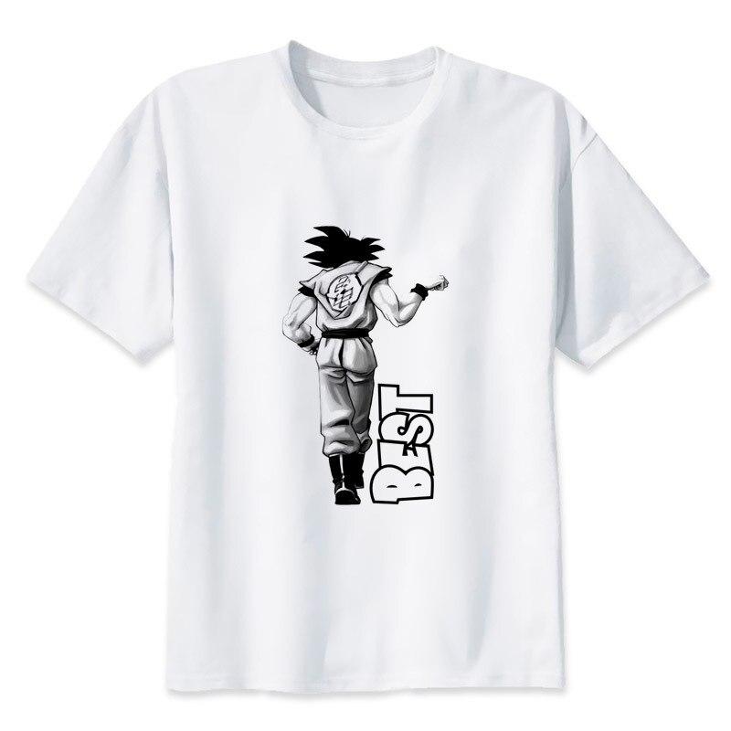 2019 Summer Streetwear Men/Women T Shirt Dragon Ball t shirt super saiyan dragonball goku Vegeta capsule corp camisetas hombre