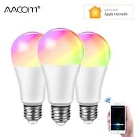 Lampe connectee WiFi 15W E27  Apple Homekit  Ampoule LED intelligente WiFi  Google Home  Echo dot  Apple IOS Siri