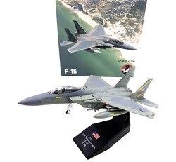 Wltk usaf F-15A eagle 1985 lutador 1/100 diecast modelo