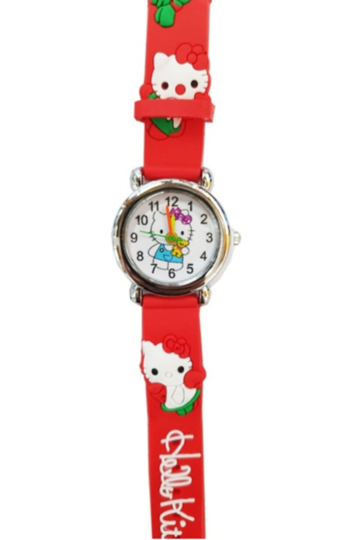 2021 New Fashion Figured 3d Embossed Silicone Strap Kids Wristwatch High Quality Cartoon Cute Quartz Clock Casual Wristwatch