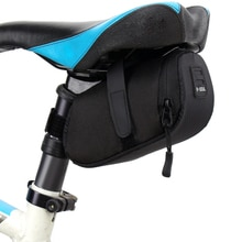 Bolsa de sillín de bicicleta portátil, para tijas de sillín, a prueba de agua, equipamiento para ciclismo