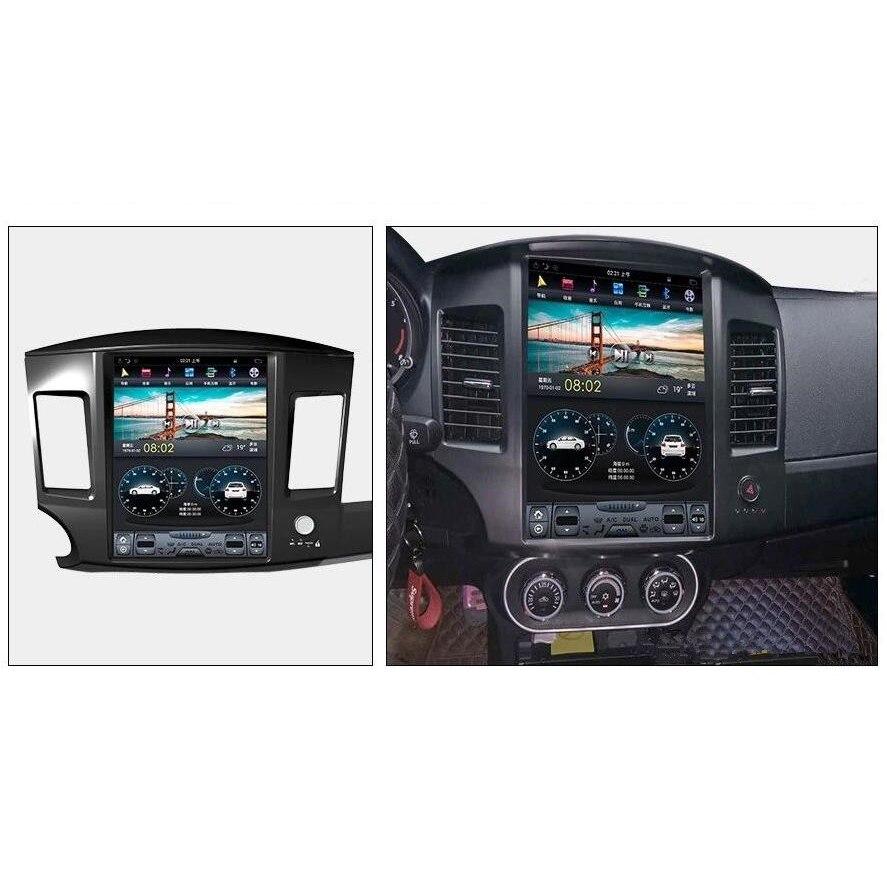 Chogath 12,1 pulgadas 2G RAM + 32 ROM Quad core coche reproductor multimedia gps para coche de navegación para Mitsubishi LANCER 10