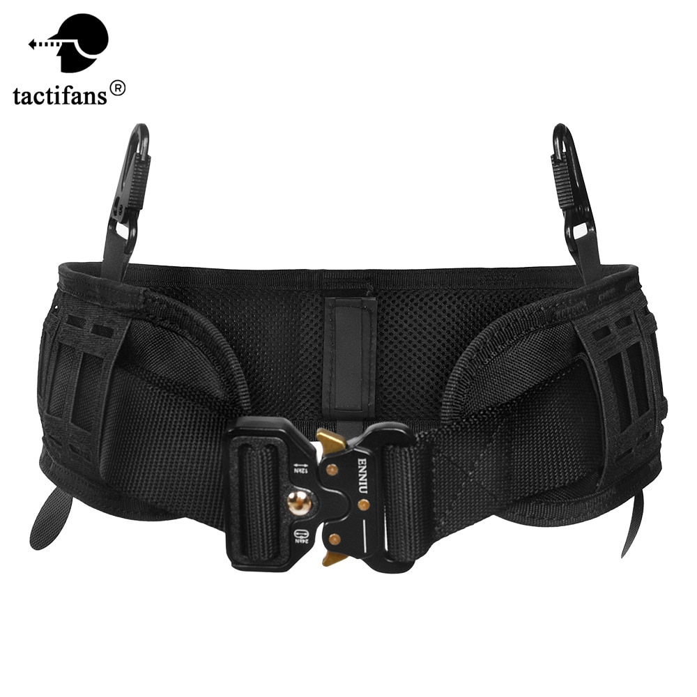 excellent elite spanker outdoor tactical molle nylon patrol waist belts army military accessories jungle hunting combat men belt Army Tactical Molle Belt Men Military Gear Metal Buckle Knock Off Heavy Duty US Soldier Combat Belts Sturdy Nylon Hunting Waist