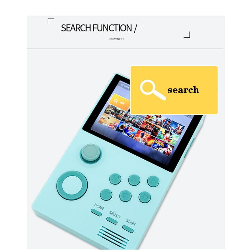 Android handheld game console 3.5 Inch IPS screen built-in 3000+games 30 3D games WiFi bluetooth Pandora's Box enlarge