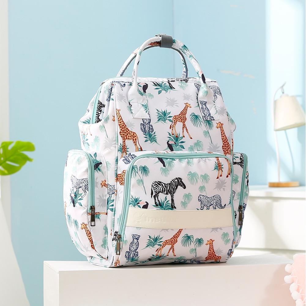 New Mummy Diaper Bag Baby Stroller Backpack Waterproof Women Handbag Maternity Nursing Nappy Travel Knapsack