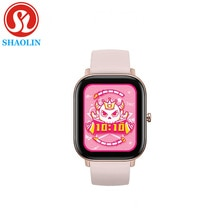 Smart Watch Men Women 1.4 Inch Full Touch Fitness Tracker Heart Rate Monitoring Sports Watches