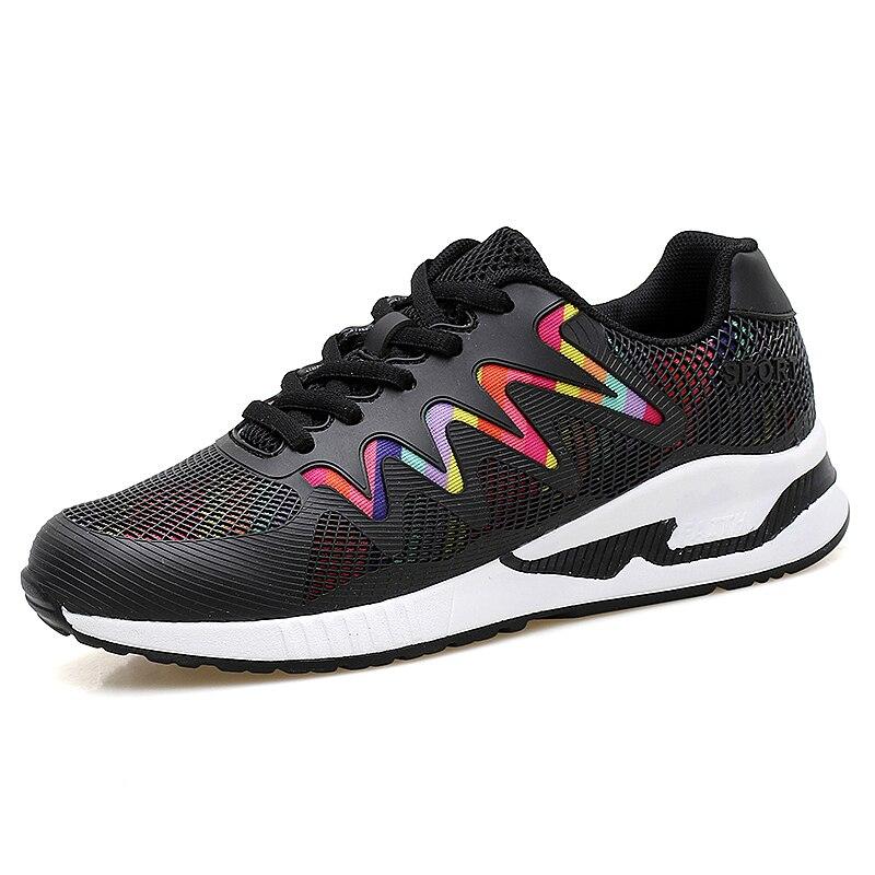Женские теннисные туфли 2021, женские высококачественные спортивные кроссовки для бега, белые женские устойчивые кроссовки, женские спортив...