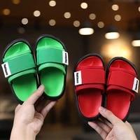 2021 childrens slippers stylish beach eva home slippers sail belt brazil shoes boys girls childrens slippers slippers kids