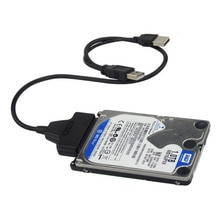 50cm USB 2.0 SATA 7 22Pin à USB 2.0 câble adaptateur pour 2.5 HDD ordinateur portable disque dur transformer Micro