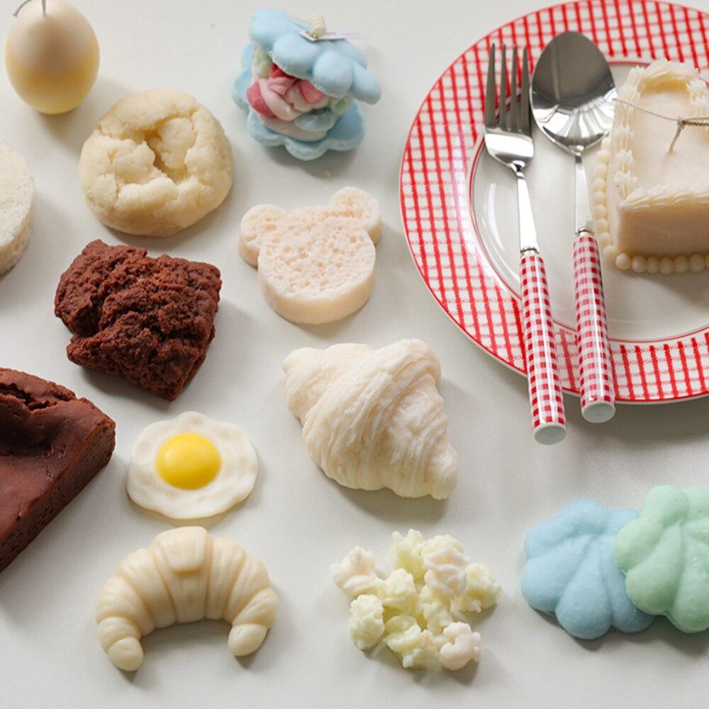 Имитация формы для торта, хлеба, свечи, силиконовые формы для ароматизированного мыла, мусс, кондитерские изделия для выпечки, сделай сам, из...