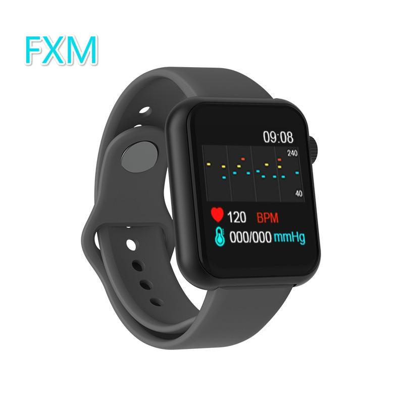 Fashion Smart Watch Women Men Blood Pressure Monitor Sport Pedometer Heart Rate Fitness Tracker Bracelet Portable Clock