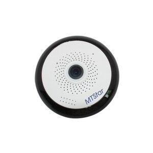 MTStar 1080P 360 degree Panoramic WIFI Security  Camera Fisheye  Two Way Audio Camera
