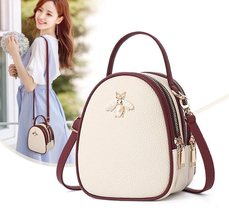 ¡Novedad de 2018! Bolso para teléfono móvil, novedad de verano, bolso INS de estilo coreano a la moda para mujer, bolso de hombro version a la moda para chica.