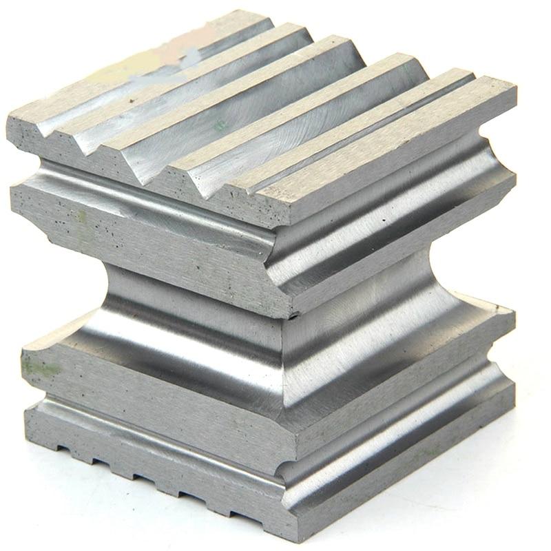 SHGO caliente-alta dureza de acero Doming Dapping bloque cuadrado de perforación que forma la herramienta para la fabricación de joyas