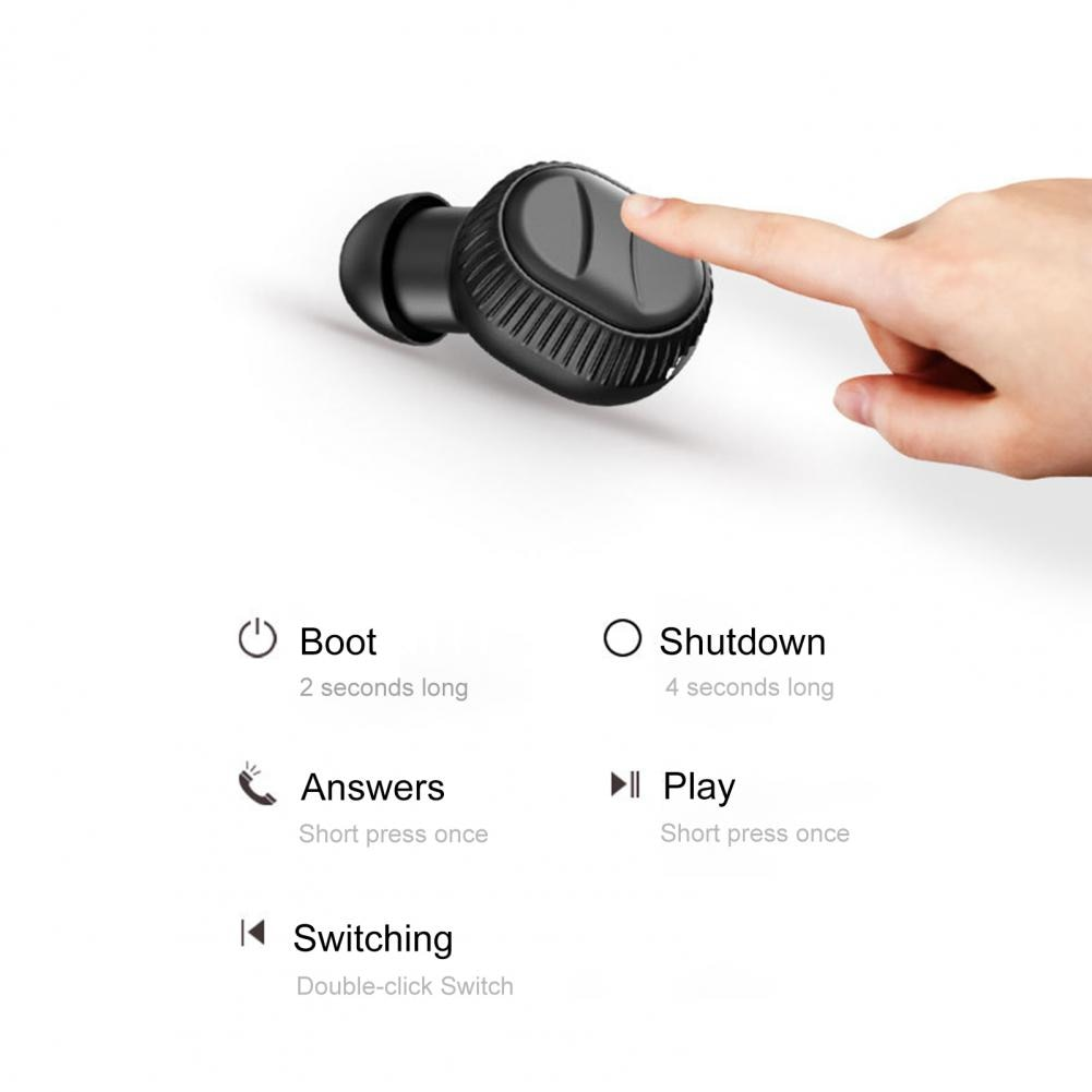 Bluetooth 5.0 Hanging Neck In Ear Wireless Sports Earphone with Charging Case enlarge