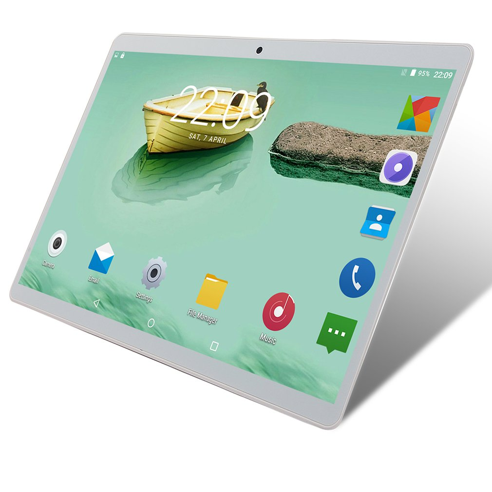 10-Inch Tablet With Call Function Tablet 10.1 Inch Large Screen Tablet Hd Quality Classic Metal Case Tablet 6+64GB enlarge