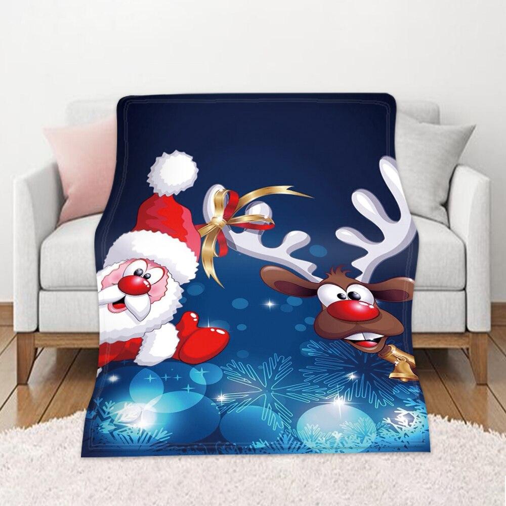 ندفة الثلج الفانيلا رمي بطانية الأحمر والأبيض عطلة بطانية 59x86 بوصة لفصل الشتاء الفراش أريكة أريكة عيد ميلاد سعيد هدايا