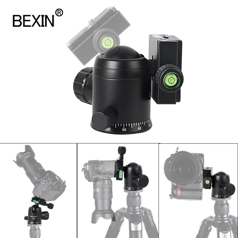 BEXIN 360-для панорамной съемки сферические карданный кронштейн для монтажа камеры штатив-монопод с шарнирным замком точку съемки SLR штатив-Три...