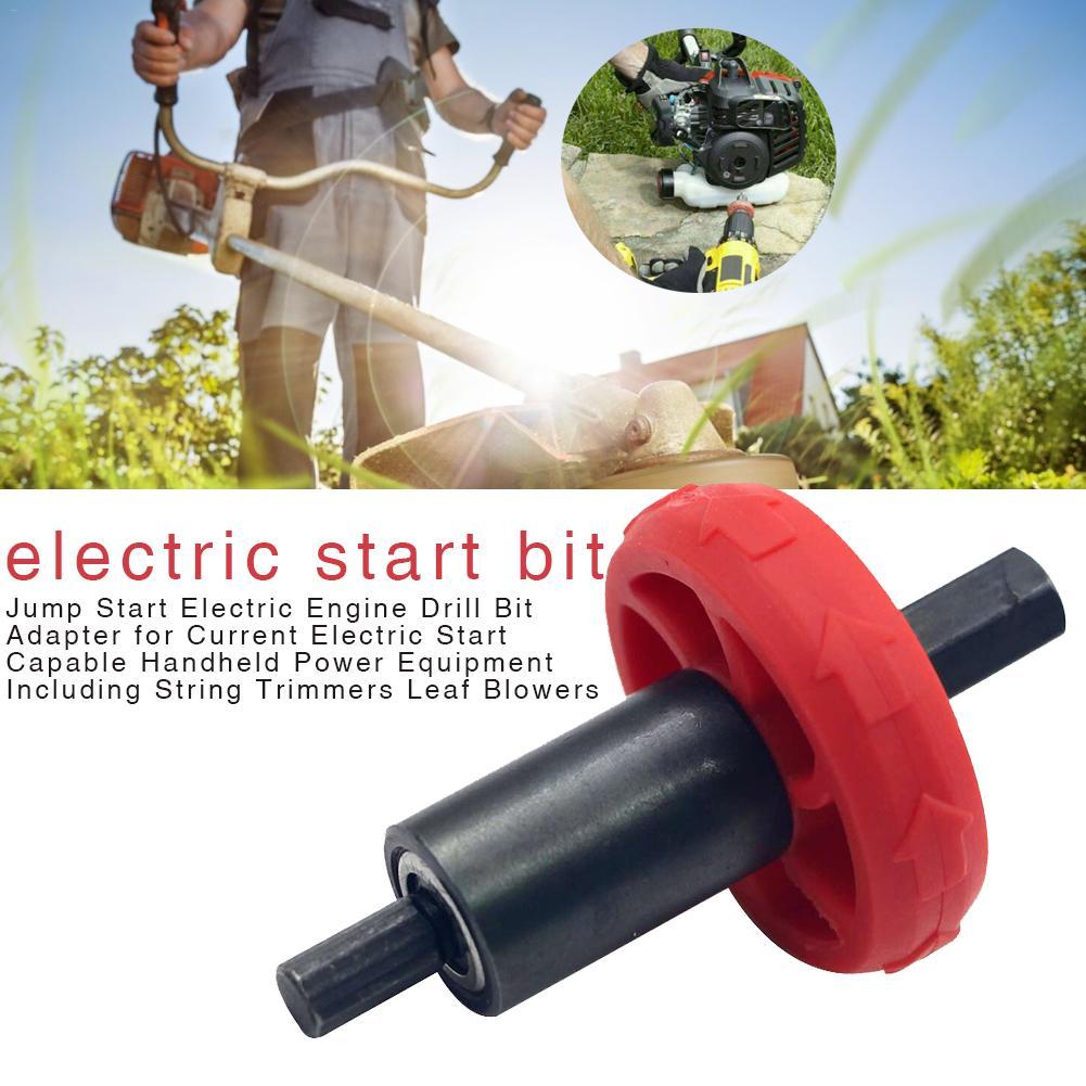 Adaptador de broca de motor eléctrico para arranque eléctrico de corriente, equipo de alimentación portátil con Cortadores de cuerda, sopladores de hojas