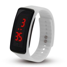 New Silicone Watchband Women Men LED Screen Sports Digital Watches Fashion Outdoor Wristwatches Kids