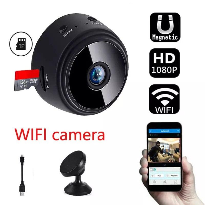 OUDNEAS الرسمية أمن الوطن كاميرا لاسلكية صغيرة المغناطيسي CCTV 1080P HD كاميرا Ip صغيرة واي فاي مخبأة لمكتب داخلي في الهواء الطلق
