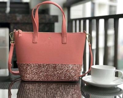 حقيبة نسائية موضة بسيط بو زلابية حقيبة عبر نمط حقيبة يد حقيبة كتف قطري حقيبة