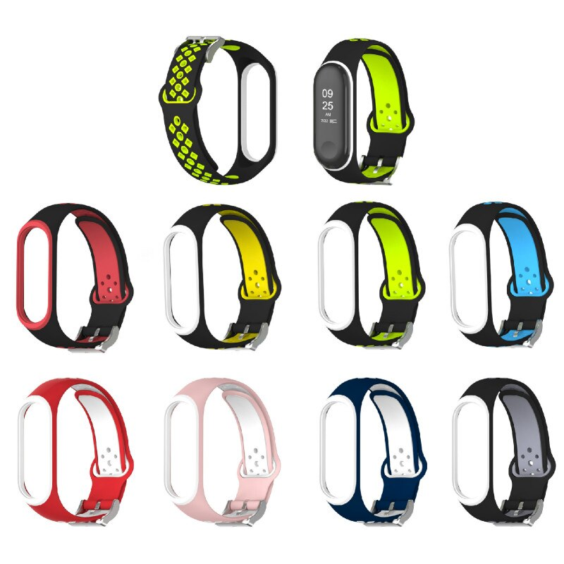 1 3 custom dial smart band watch fitness tracker bracelet hr bp smartband fit for ios xiaomi honor vs mi band 3 4 not xiomi NEW Sport Mi Band 3 4 Strap wrist strap for Xiaomi mi band 3 sport Silicone Bracelet for Mi band 4 3 band3 smart watch bracelet