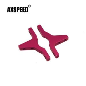 AXSPEED 1 Pair Aluminum Rear Bulkhead Cover For Sakura D3 1:10 RC Car Upgrade Parts